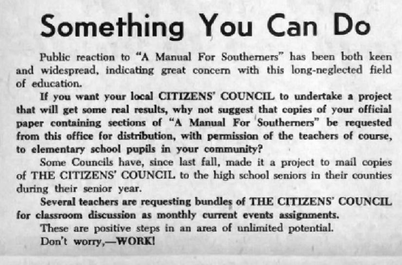 The Citizens' Council Paper