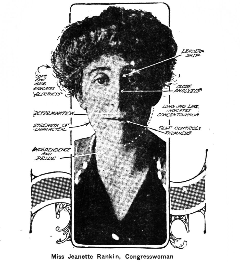 Jeanette Rankin, Congresswoman