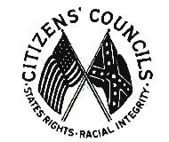 White Citizens Council Emblem