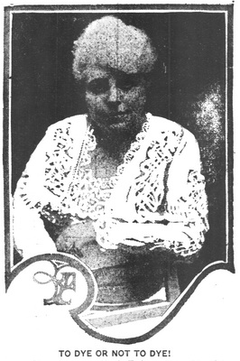 Idah McClone Gibson as She Is Today  With White Hair in 1915