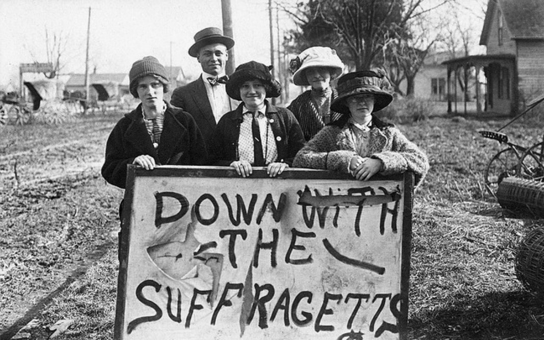 Anti-Suffragists Caught Forging Telegrams