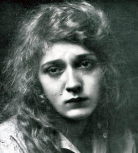 Mary Pickford believes that weeping is purely and simply a part of an actress' calling.