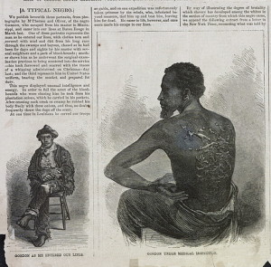 """A Typical Slave"" - Harpers Weekly, 1863"