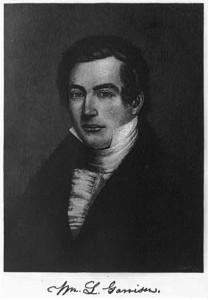 William Lloyd Garrison in 1835
