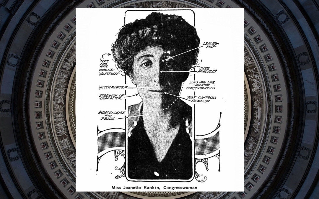 Reading Jeanette Rankin's Head