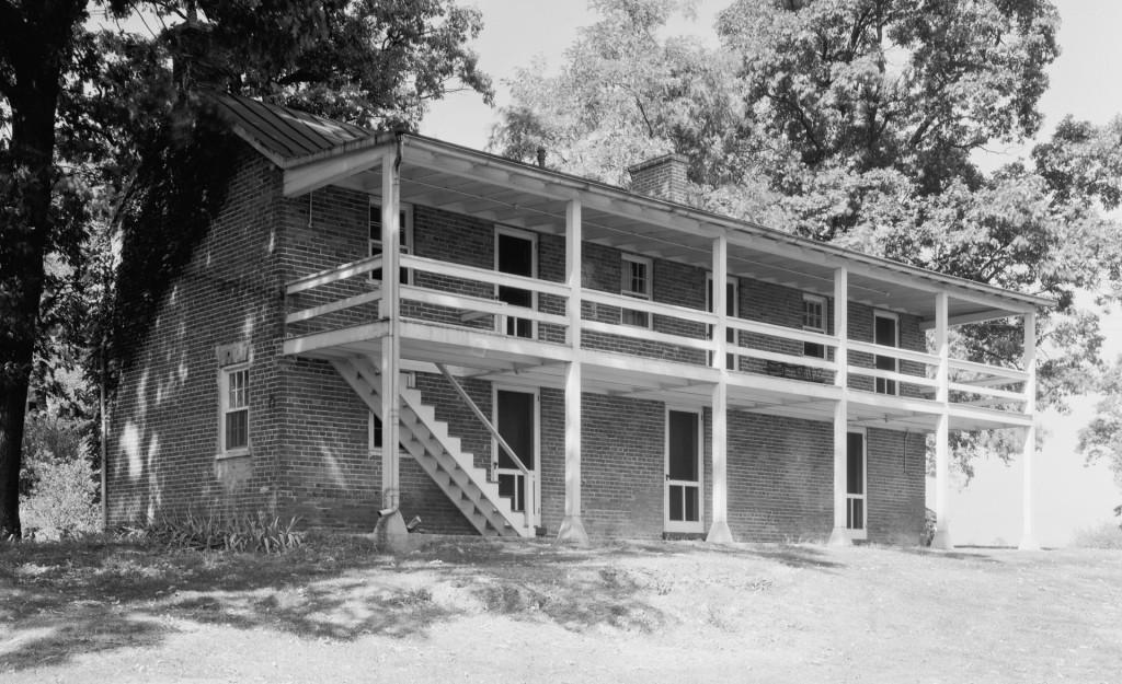 Rockland slave quarters, Leesburg vicinity, Loudoun County, Virginia