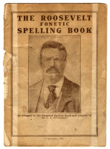 The Roosevelt Fonetic Spelling Book