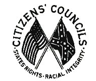 White Citizens Council Emblem