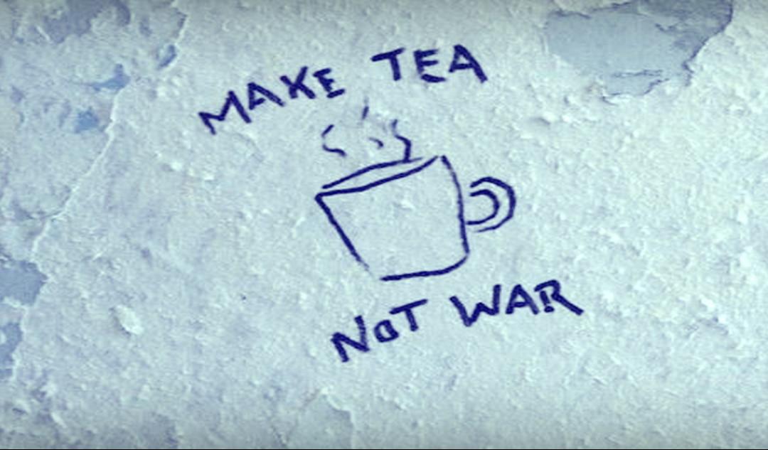 World War Tea has Begun